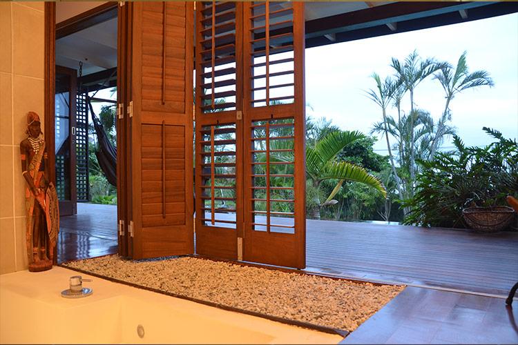 Kitari view from spa bath